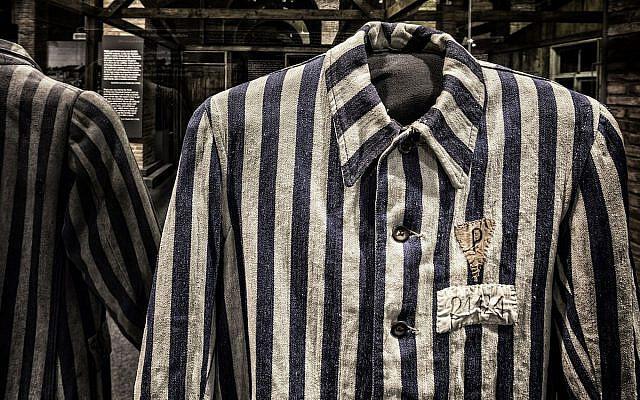 Auschwitz prisoner uniform