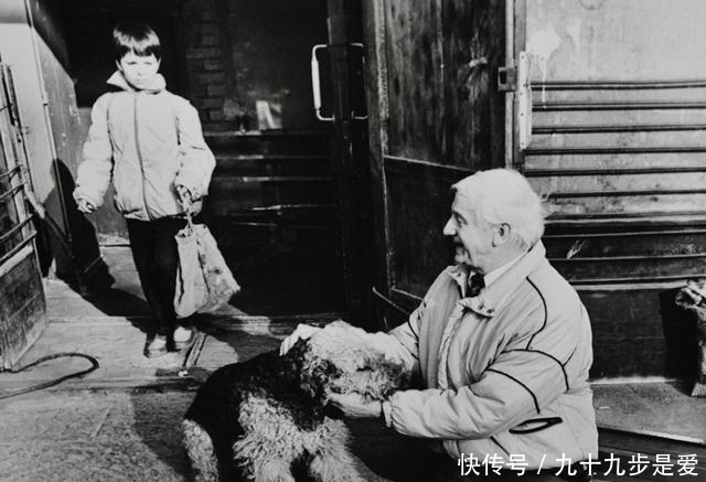 Anatoly Golimbievsky with his grandson