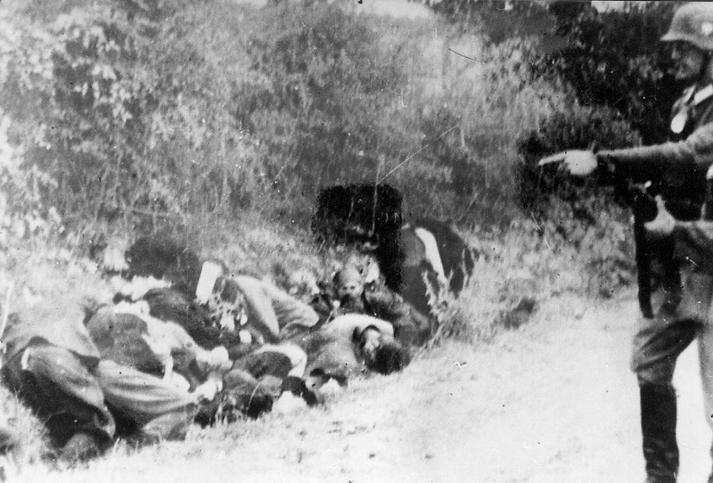 Germans shot 2300 Serbs
