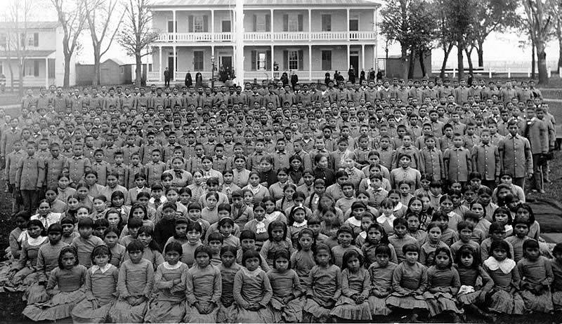 Residential Boarding Schools for Native American children