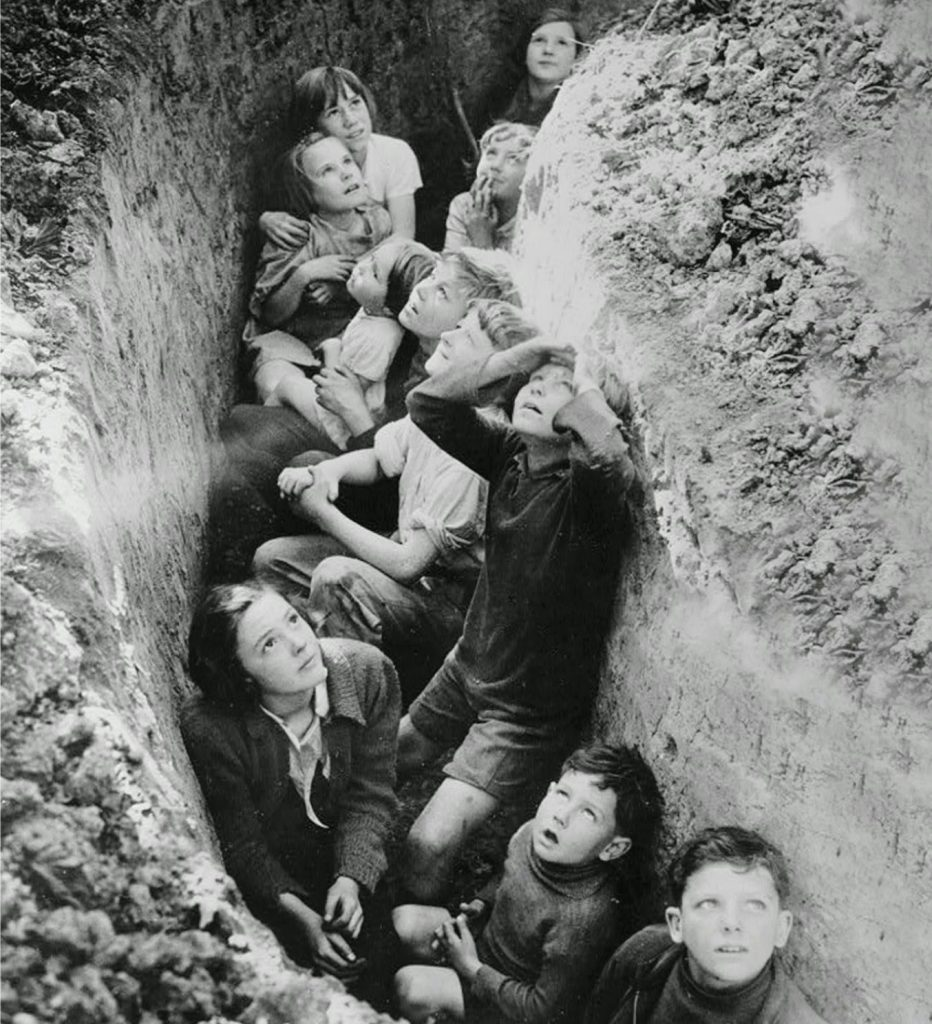 British children trench