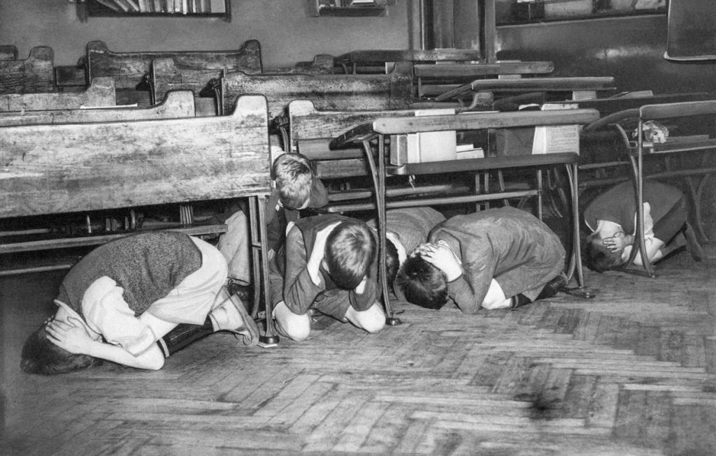 British classroom ww2