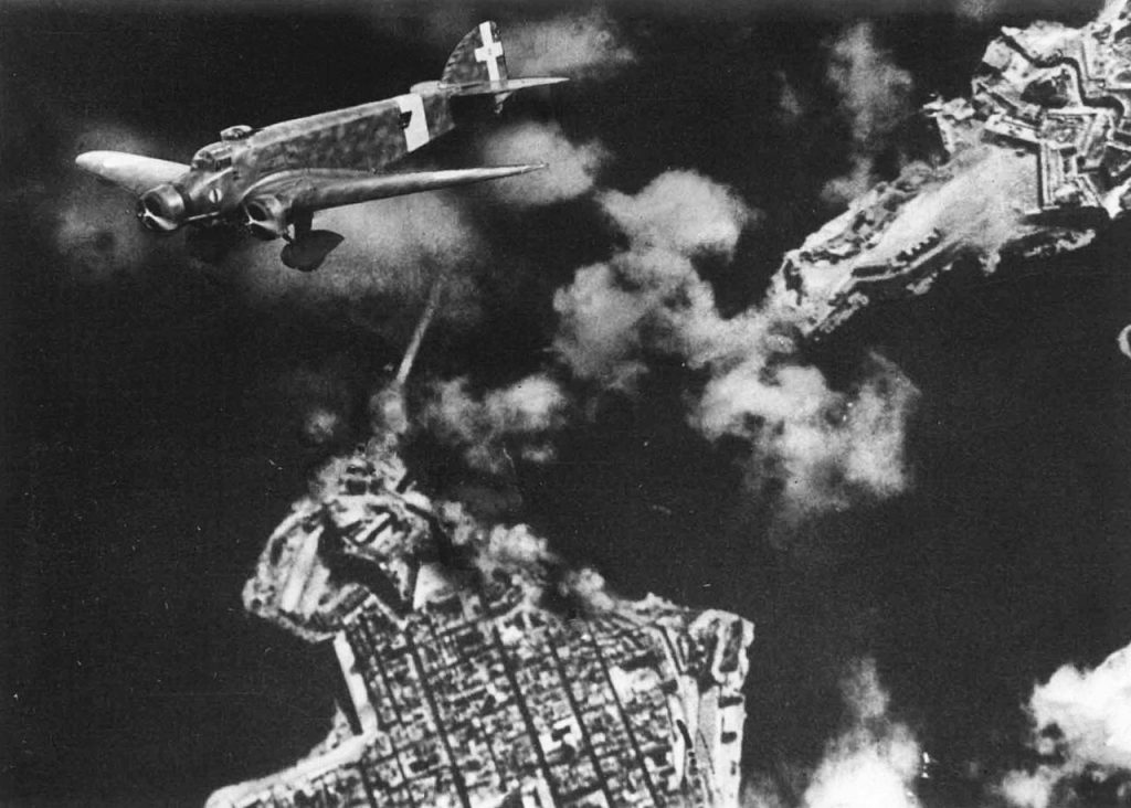 Italian bombing of the Grand Harbour