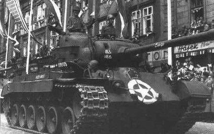 M26 Pershing Tank in Pilsen