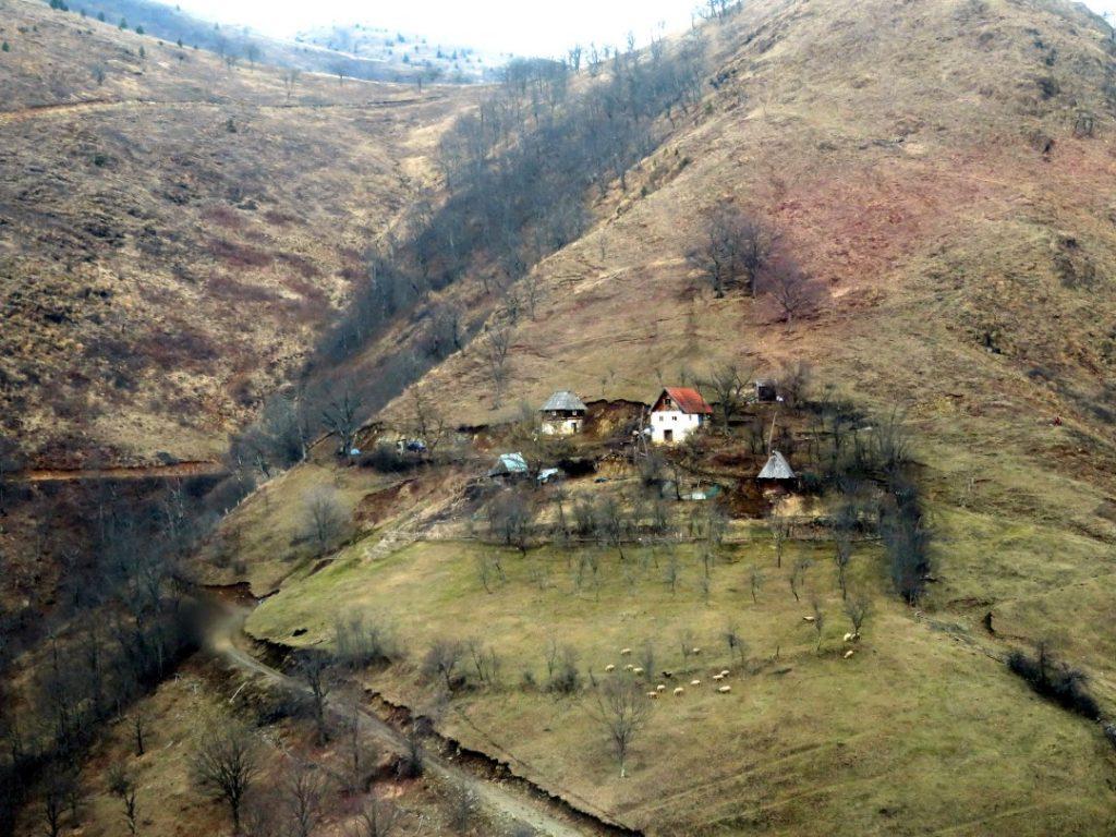 Countryside between Belgrade and Bar