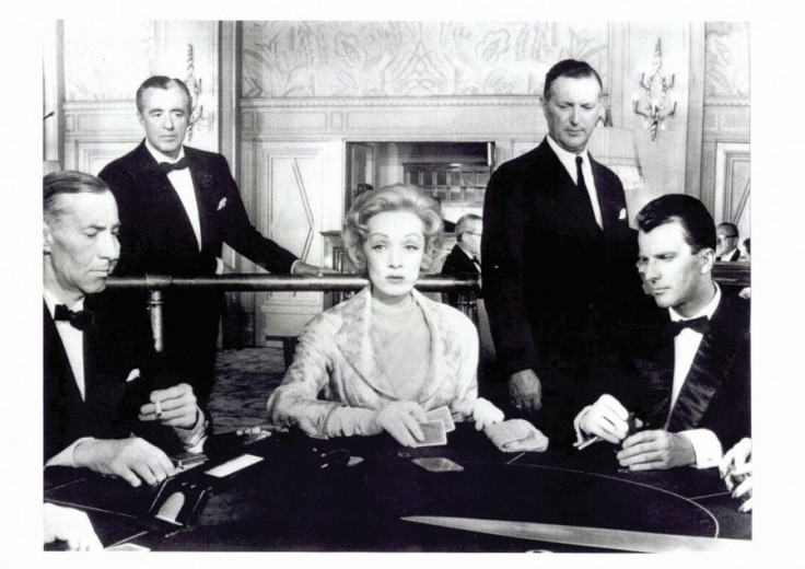 Peter Florjancic staring alongside Marlene Dietrich. Source.